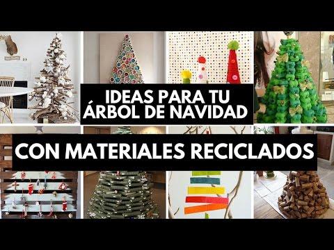 Ideas para tu rbol de navidad con materiales reciclados for Adornos navidenos que pueden hacer los ninos