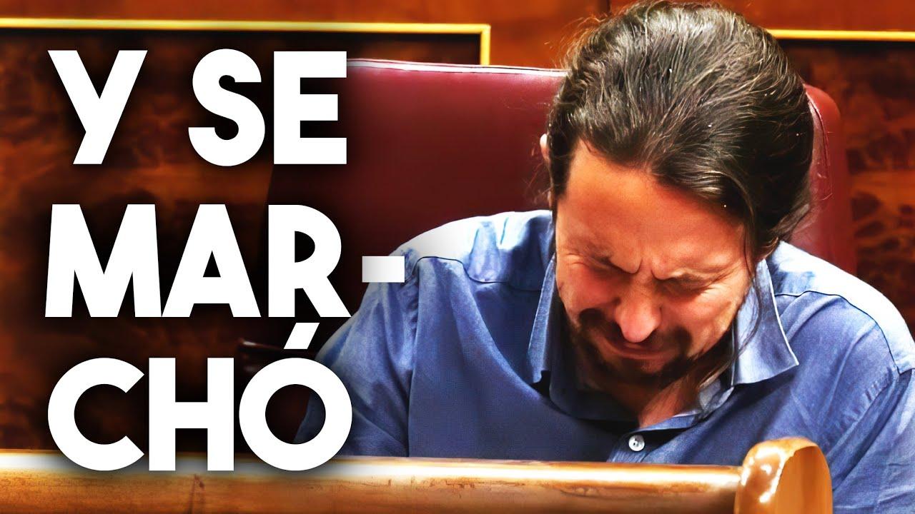 Y SE MARCHÓ | Pablo Iglesias deja la política | J. L. PERALES - Un velero llamado libertad (PARODIA)