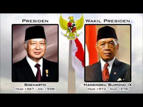 PRESIDEN DAN WAKIL PRESIDEN REPUBLIK INDONESIA DARI MASA KE MASA