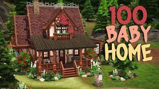 (CADILAR ✨   The Sims 4   Hız İLE) 100 BABY CHALLENGE EV İnşa