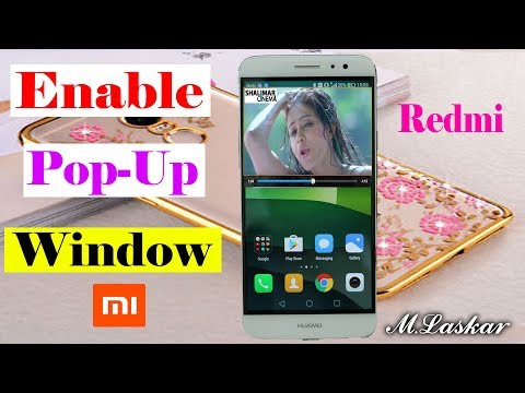 How To Enable Display Pop-Up Window MIUI Redmi Note 4/3 Miui 5/6
