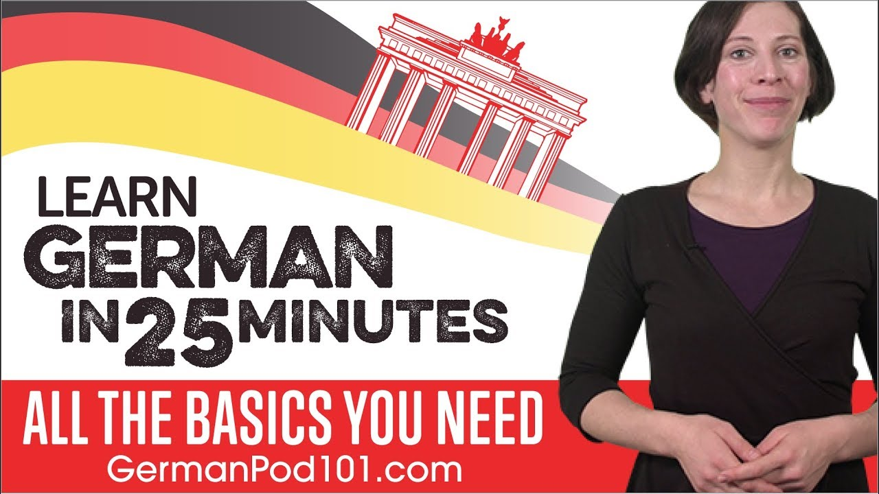 GermanPod101 - Learn German with Audio & Video Lessons