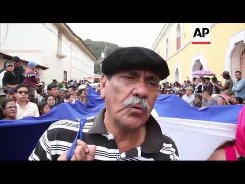 Slain environmental activist buried in Honduras