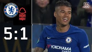 Chelsea-Youngsters vermöbeln Forest | Chelsea - Nottingham Forest 5:1 | Highlights | EFL Cup | DAZN