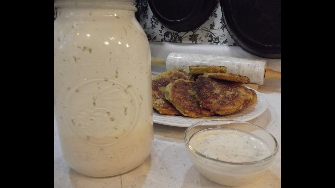 Buttermilk Ranch Dressing   The Hillbilly Kitchen   YouTube