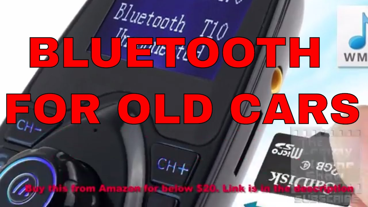 Bluetooth for older model cars through your radio with the Otium T10