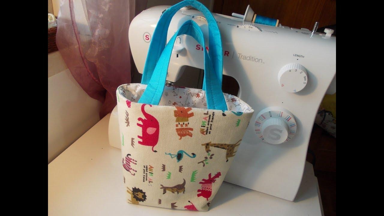 Coudre Pour Un Anaïs Bag Petite Couture Tote Mini Fille IxIH8qrw