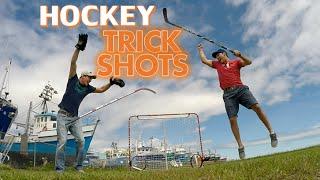 Hockey Trick Shots | Summer Edition