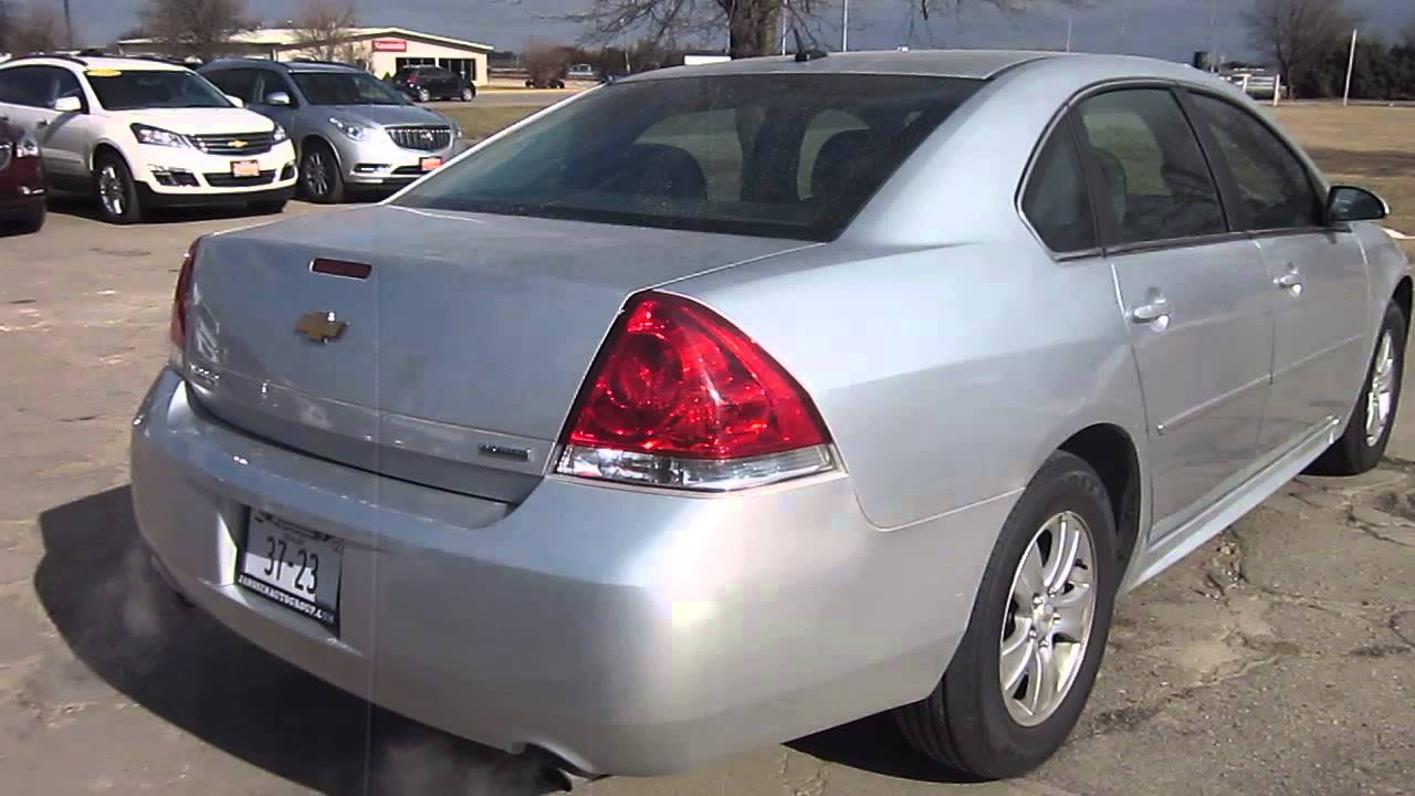 2007 Silver Chevy Impala Limited Ls