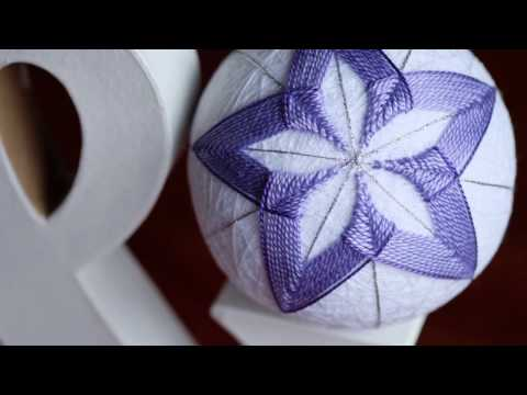 Temari ball making