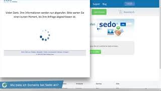 Kinderleicht Domains verkaufen mit Sedo und checkdomain