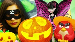 Хэллоуин для детей - Игрушки готовятся к Halloween. Сборник