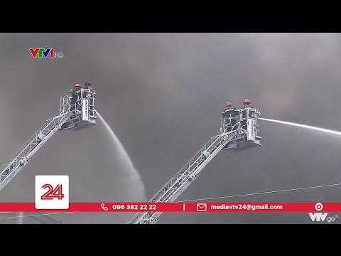 Cháy lớn trong khu công nghiệp Hiệp Phước, TP.HCM   VTV24