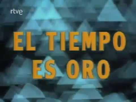 El tiempo es oro 1987 Cabecera. Programa concurso de TVE