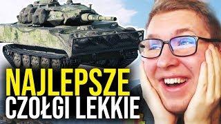 NAJLEPSZE CZOŁGI LEKKIE - World of Tanks