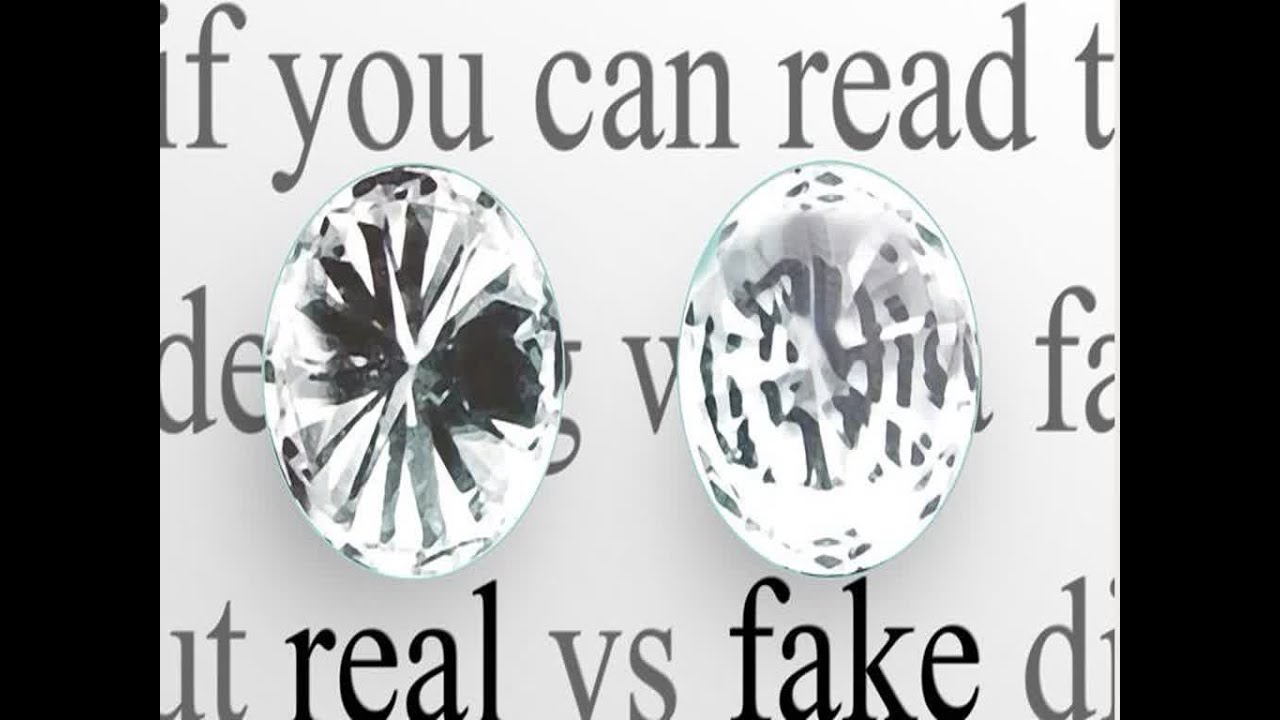How To Tell If A Diamond Is Real Youtube
