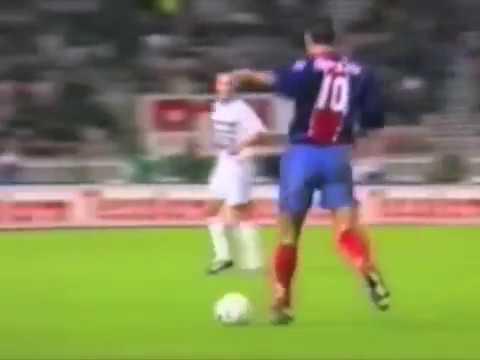 PSG - Strasbourg 1995-96, buts