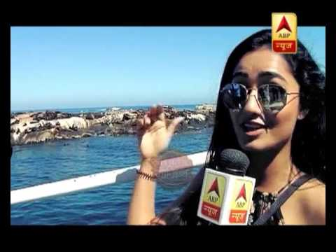 Take a look at Tridha Choudhury's adventure sports trip to South Africa