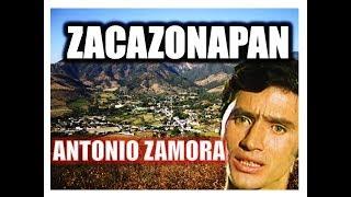 Antonio Zamora, Zacazonapan