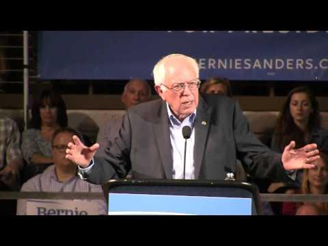 Bernie Sanders 2016 Presidential Campaign Holds Portland ME Town Hall