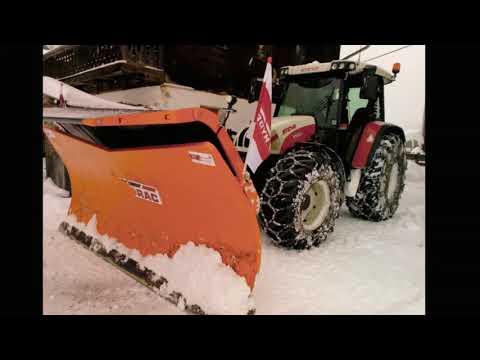 ❄Winterdienst❄ Schneeräumung in Thierbach 2018/19