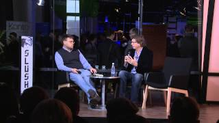 Slush 2013 - Niklas Zennström Interview | Yellow Stage #slush13