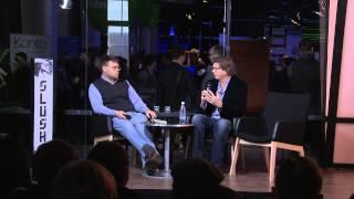 Slush 2013 - Niklas Zennström Interview | Yellow Stage #slush13