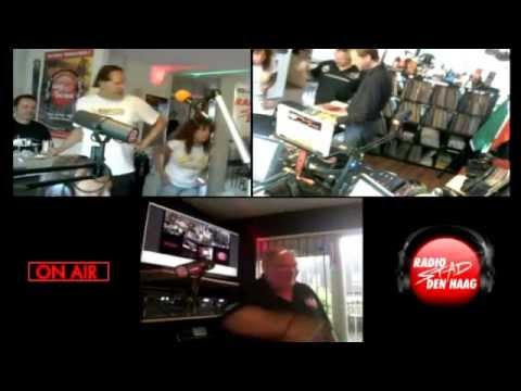 My mix at Radio Stad Den Haag with Laserdance in the studio
