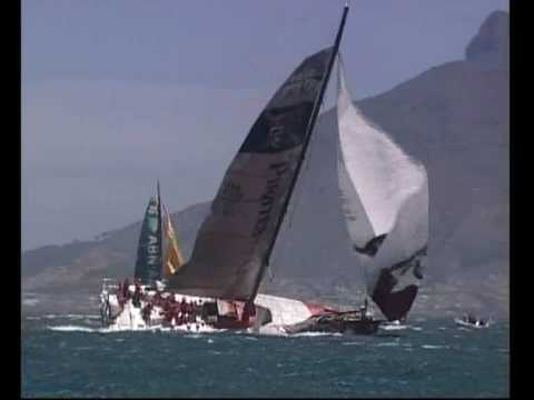 Pirates Of The Caribbean broach | Volvo Ocean Race 2005-06