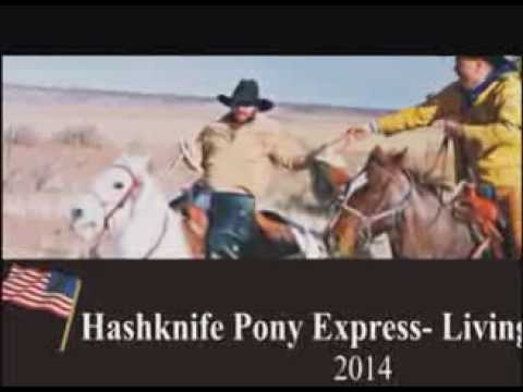 Hashknife Pony Express Rides throught Star Valley,AZ