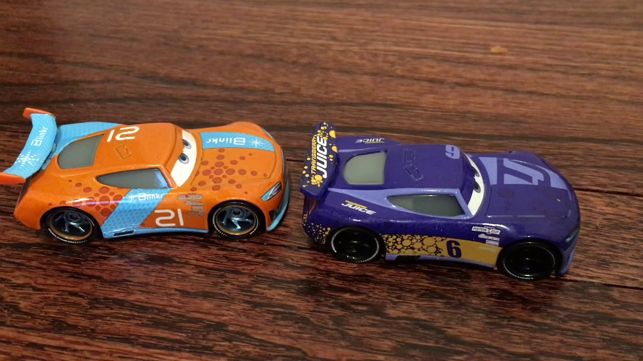 Disney PIXAR Cars 3 1:55 Diecast BUBBA WHEELHOUSE Next Gen Racers