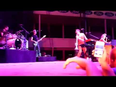 Karmin - Hello (Live From Delta Fair & Music Festival Memphis TN 08-30-2013)