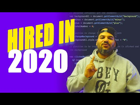 How To Get Hired As A Web Developer In 2020
