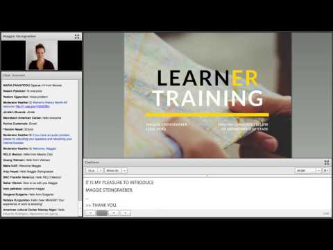 AE Webinar 5.5 - Learner Training: Developing Student Autonomy to Increase Engagement