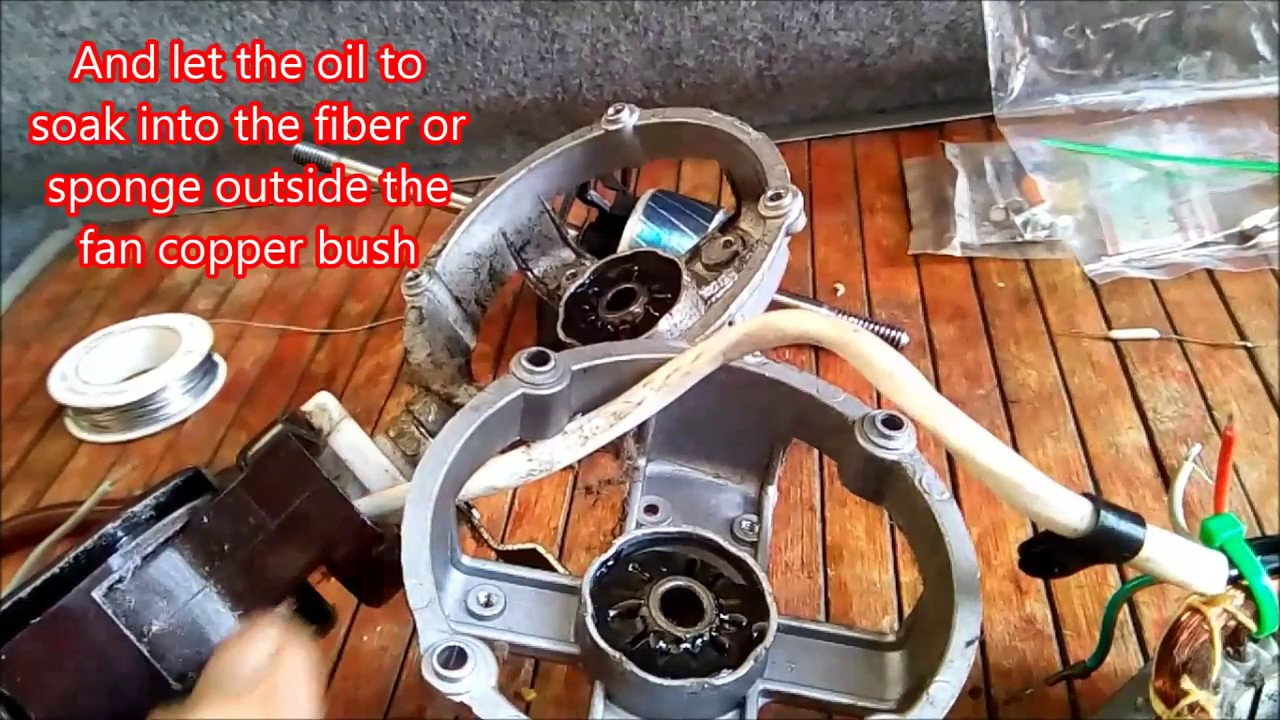 How to prevent fans thermal fuse from blowing up - YouTube
