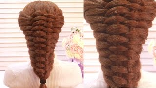 Красивая Прическа. Коса.  Amazing Hairstyle Tutorial Compilation 2017