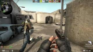 CSGO Competeative      We Almost became Throwers