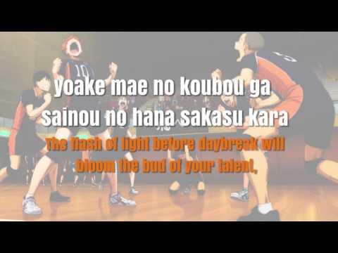 [ENG|ROM] FULL Haikyuu! 2 OP2 - FLY HIGH Lyrics