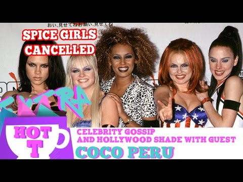 Posh Spice Squashes Spice Girls Reunion: Extra Hot T with COCO PERU