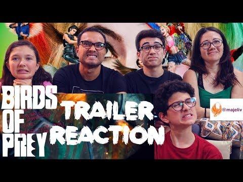 birds-of-prey---trailer-reaction-  -the-majeliv-family