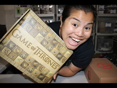 2017 Winter Game of Thrones Unboxing - [The Noble Houses of Westeros] - NEW!