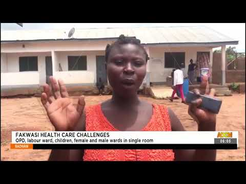 OPD, labour ward, children, female and male ward in single room - Badwam News on Adom TV (14-9-21)