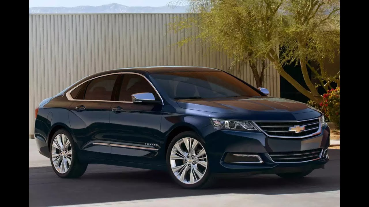 2017 Chevy Impala Walkaround Review And Interior In Exterior