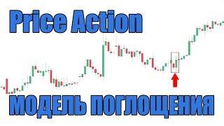 Модель Поглощения 2.0 - как торговать паттерн Price Action