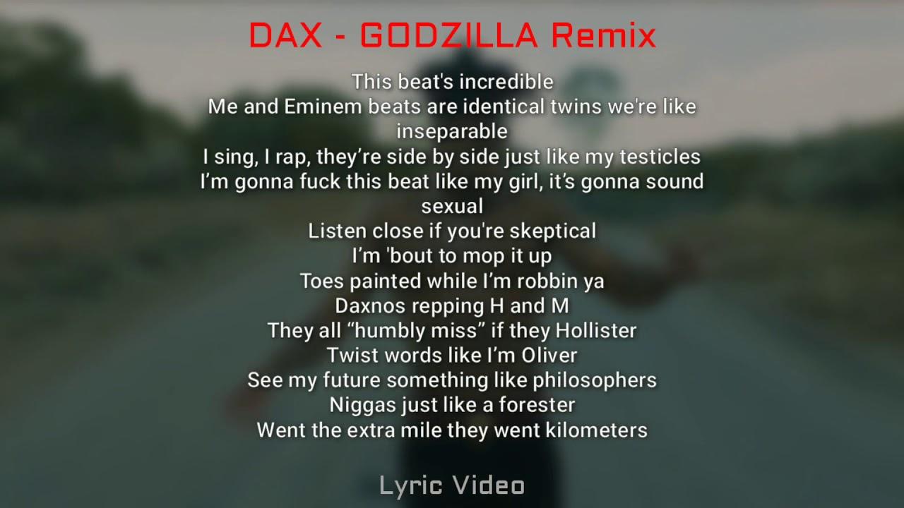 Download DAX - Godzilla Remix [LYRIC VIDEO]
