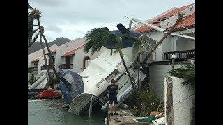 Simpson Bay resort Hurricane Irma Sint Maarten Saint-Martin #irma