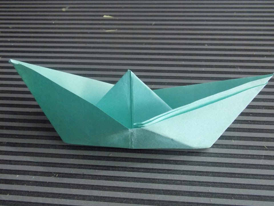 How To Make Paper Boat Step By Easy At Home 2015 New DIY