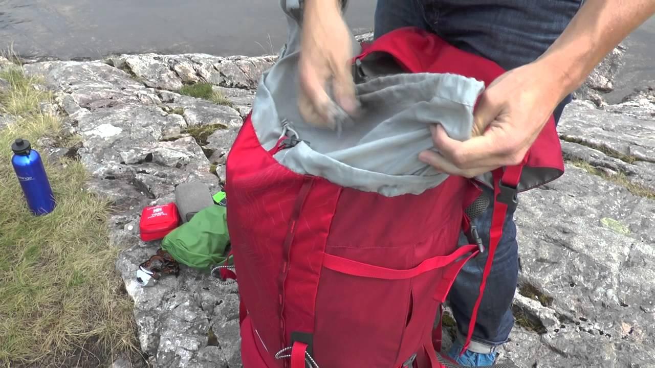 How to pack a trekking rucksack - Vango