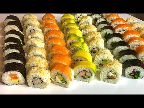 Домашние роллы |суши своими руками| роллы рецепт| как варить рис для суши