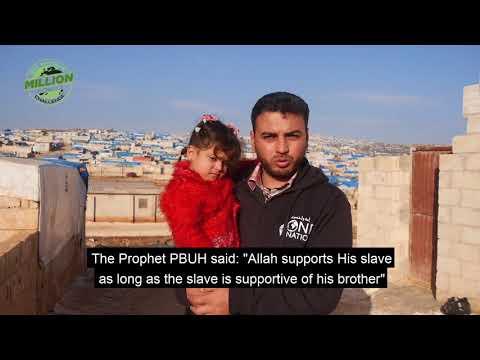 Meet Khalid Abdul Fattah from Syria - November food parcels in Syria